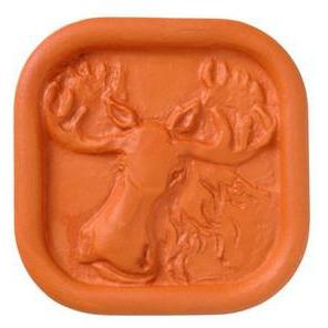 JBK POTTERY BROWN SUGAR SAVER MOOSE JBK POTTERY
