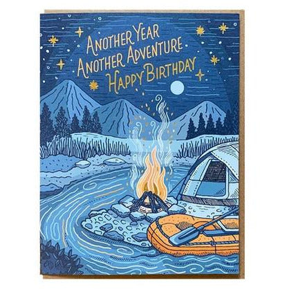 NOTEWORTHY CAMPFIRE BIRTHDAY CARD NOTEWORTHY