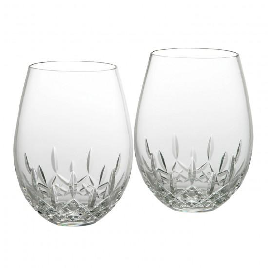WATERFORD LISMORE NOUVEAU STEMLESS WINE DEEP RED WATERFORD