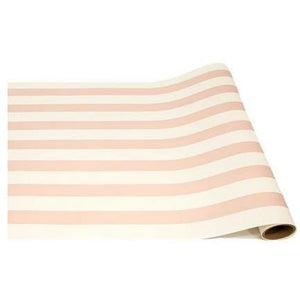 "HESTER & COOK PINK CLASSIC STRIPE RUNNER 20""X25' HESTER & COOK"