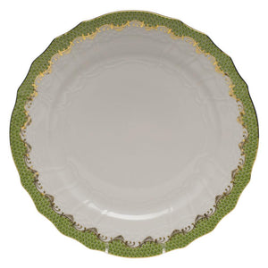 HEREND FISH SCALE EVERGREEN SERVICE PLATE HEREND