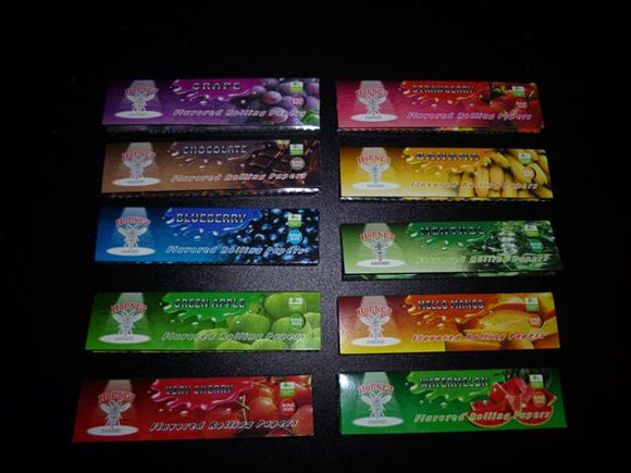 Flavoured Kingsize Papers - 10 Packs