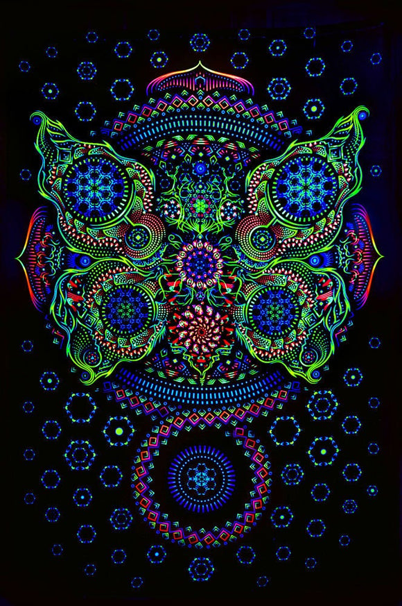 Owls Vertical UV Backdrop