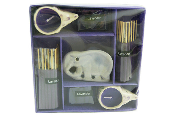 Incense and Cone Gift Set Lavender