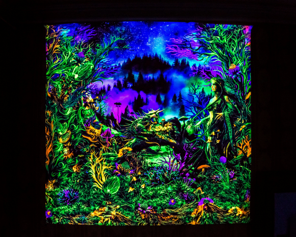 Elven Forest UV Backdrop
