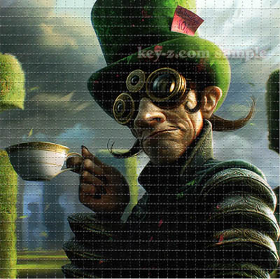 Green Mad Hatter