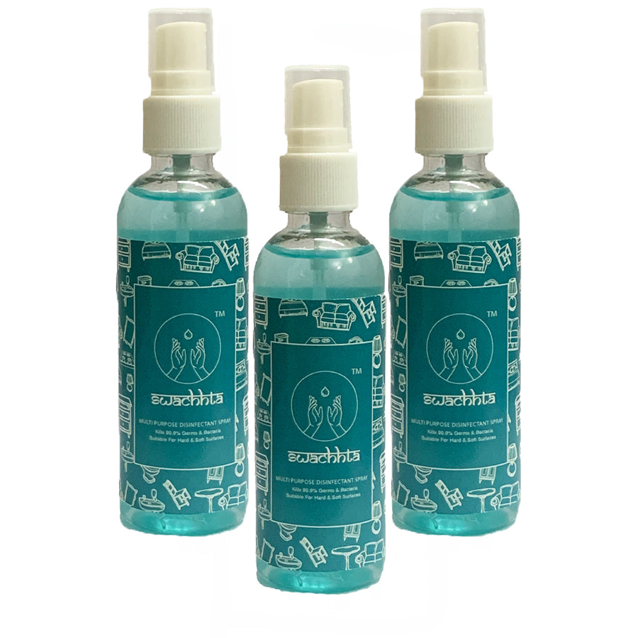 Swachhta Multi Purpose Disinfectant Spray (Set Of 3x100ml)