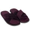 New Roman Velvet Slippers (Purple)