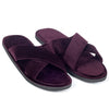 New Roman Domani Slippers© (Purple)