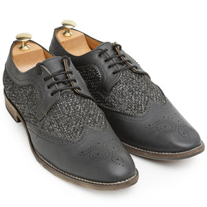 Mesh Oxford Brogues
