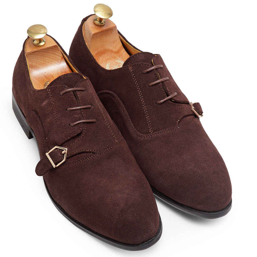 Santino Lace Up Monxfords (Brown)