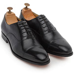 Italia Leather Oxfords (Black)
