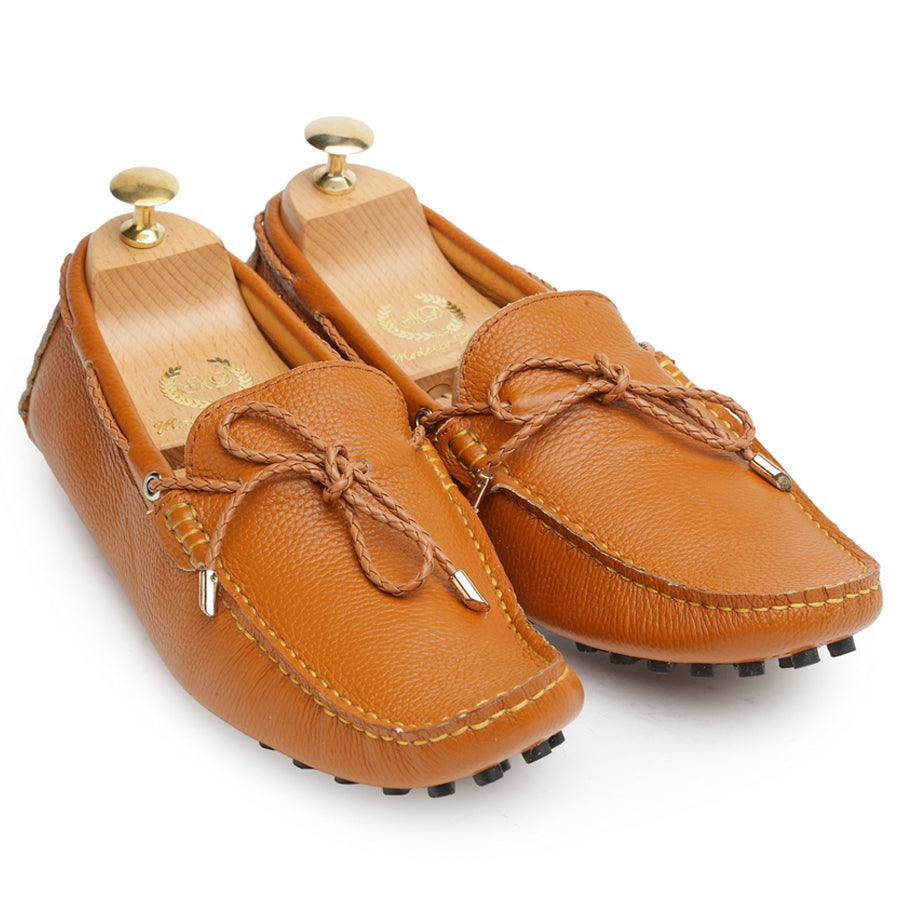 Gommino Leather Loafers (Tan Limited Edition)
