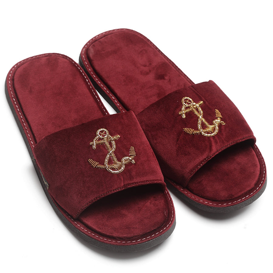 Anchor Slippers (Wine)