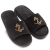 Anchor Domani Slippers© (Black)