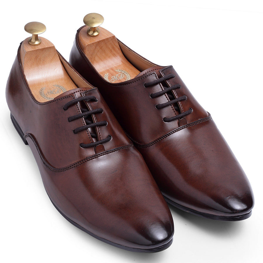 Derby Lace-Ups (Brown)