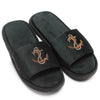 Anchor Slippers (Bottle Green)