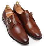 English Single Monkstraps