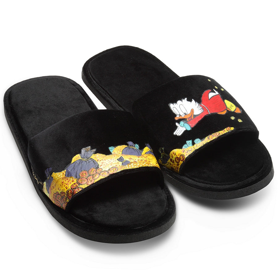 Hand-Painted Slippers (Made To Order)