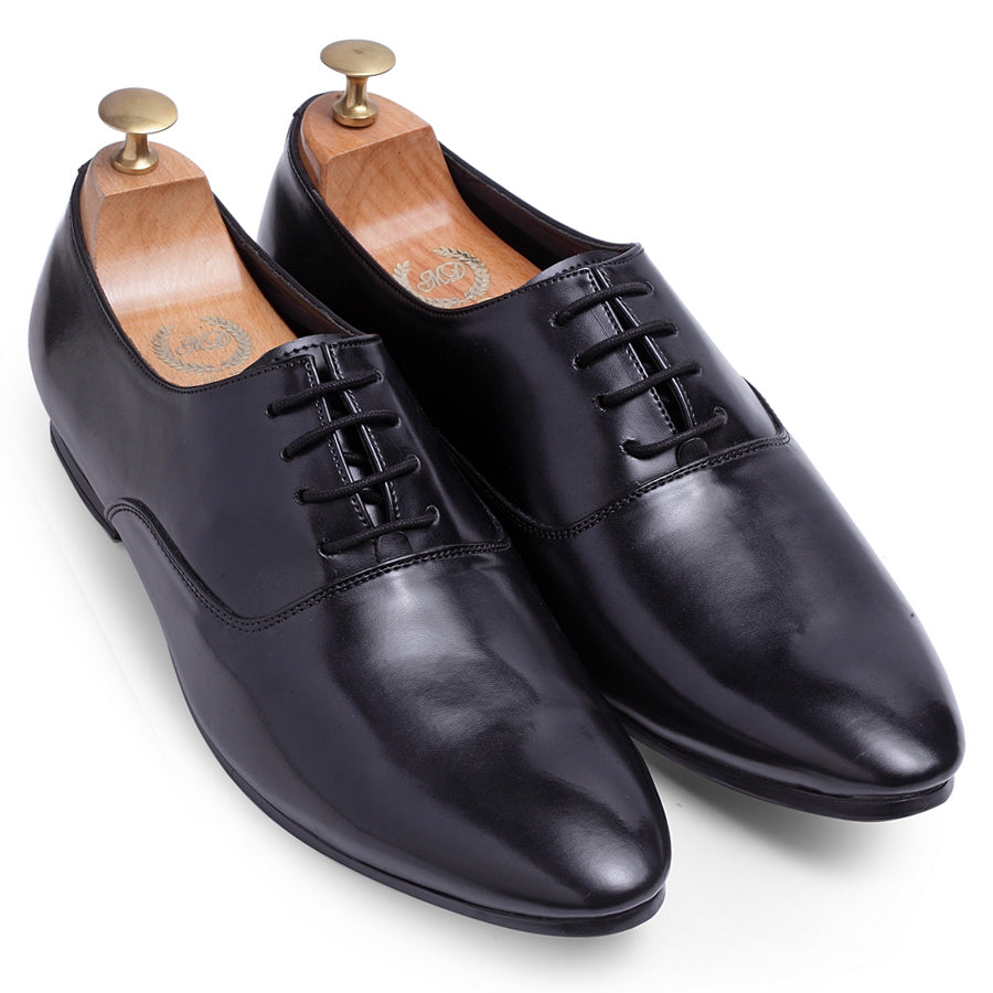 Derby Lace-Ups (Black)