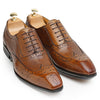 Camel Toe Brogue Oxfords