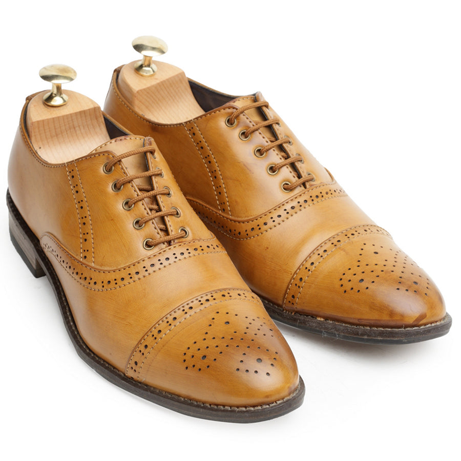 The Oxford Brogues (Tan)