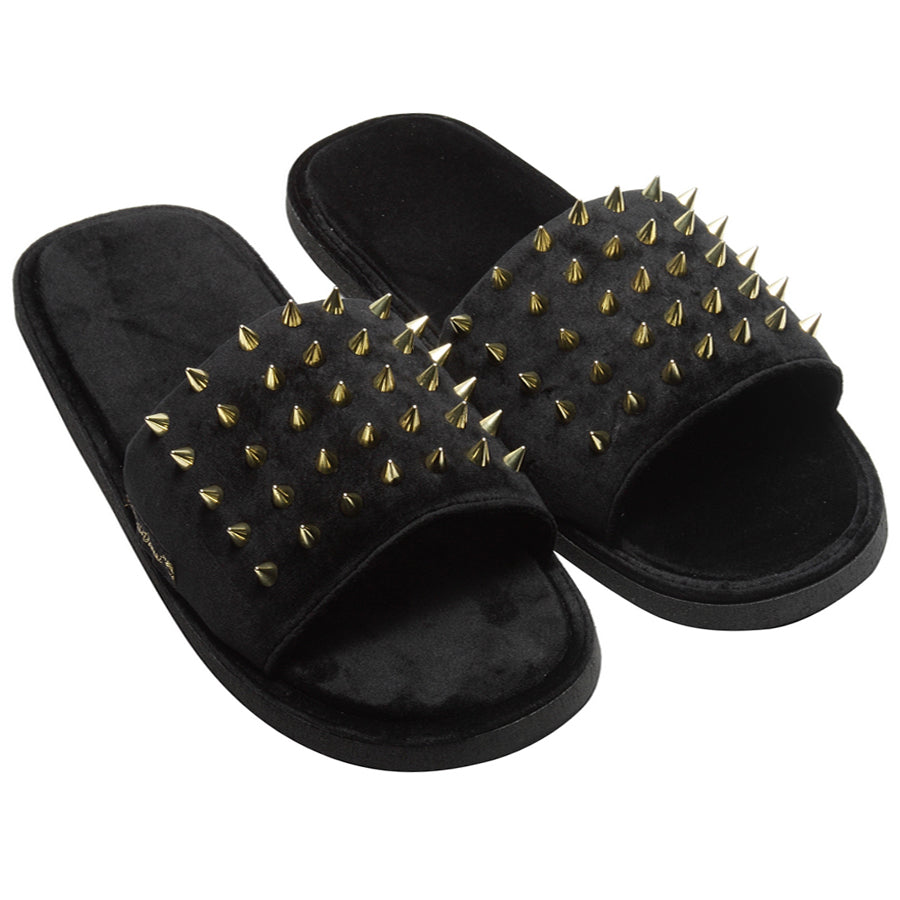 Spike'd Slippers (Golden)