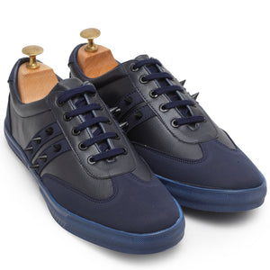 Spike'd Sneakers (Navy)