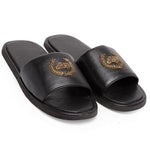 Leather MD Slippers (Black)