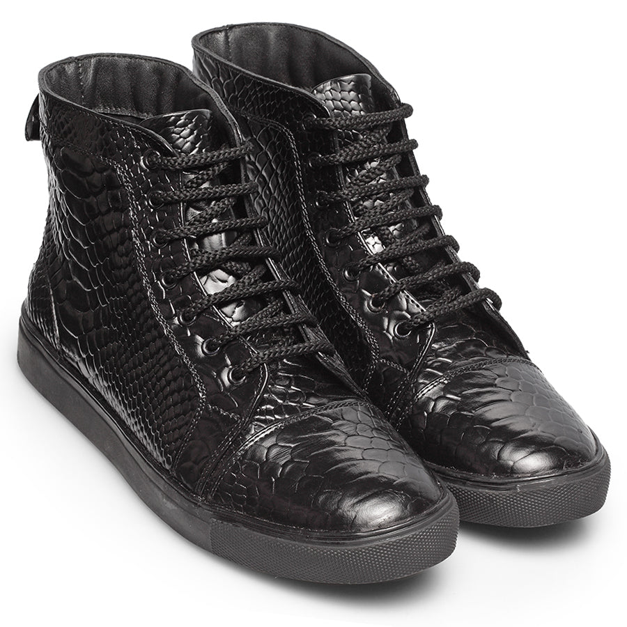 Python Scaled Ankle Sneakers (Limited Edition)