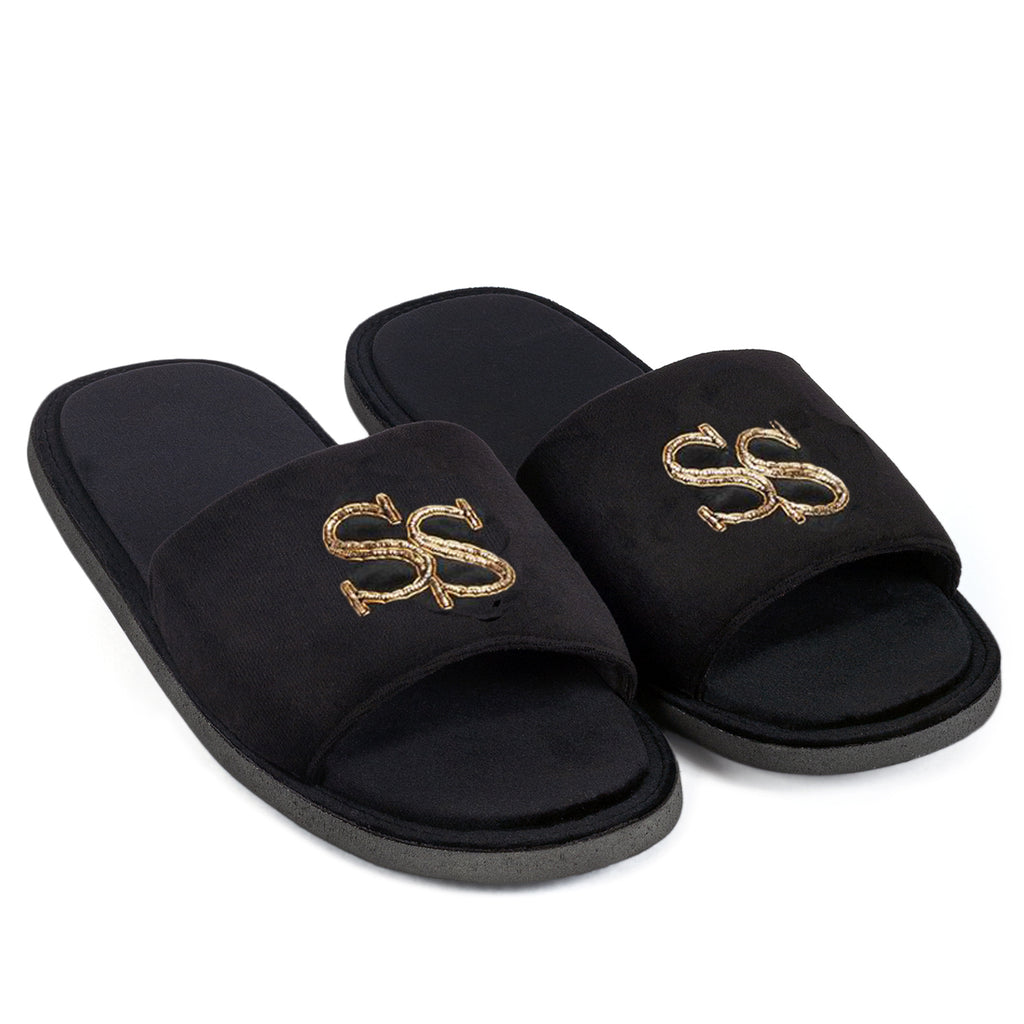 Customized Initials Domani Slippers© (Made To Order)
