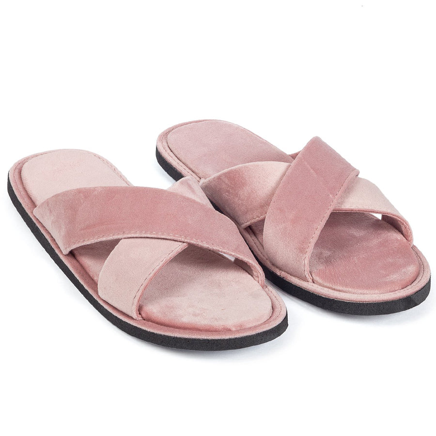 New Roman Domani Slippers© (Baby Pink)