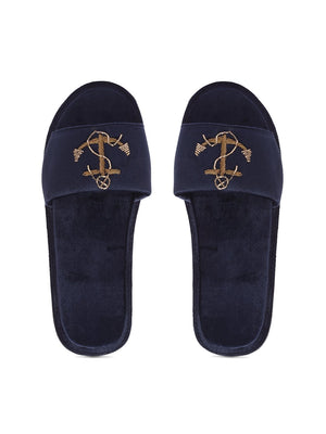 Anchor Domani Slippers© (Navy)