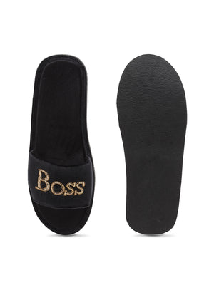 Boss Bitch Domani Slippers©