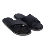 New Roman Domani Slippers© (Black)