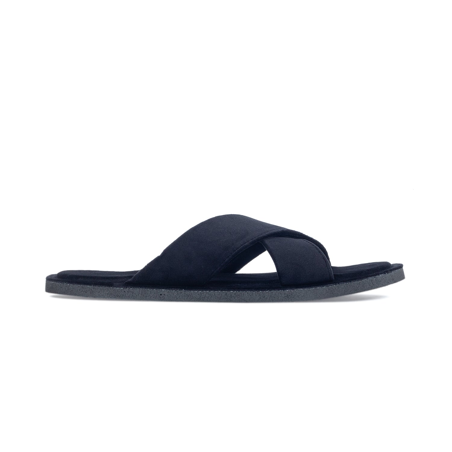 Kids New Roman Domani Slippers© (Black)