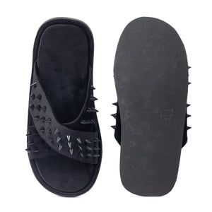 New Roman Spike'd Velvet Domani Slippers© (Limited Edition)