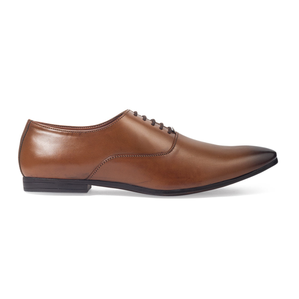 Derby Lace-Ups (Tan)