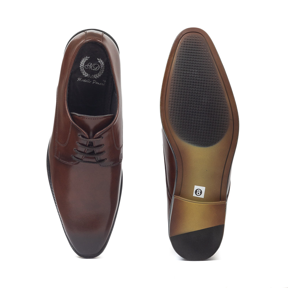 Derby 2.0 Lace Ups (Brown)