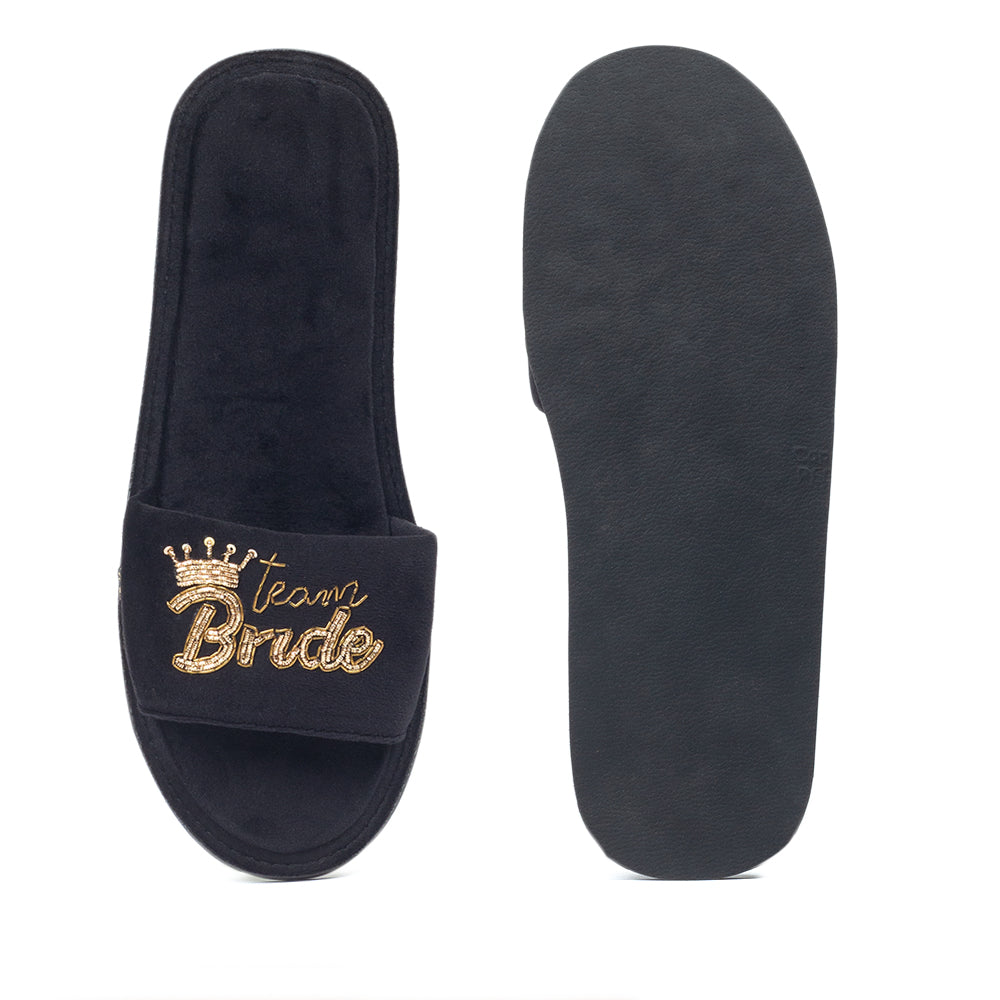 Team Bride Domani Slippers© (Wedding Series)