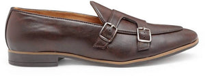 Low Cut Dual Monkstraps (Brown)