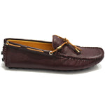 Gommino Leather Loafers (Wine)