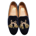 3D Dancing Tassels (Navy LIMITED EDITION)