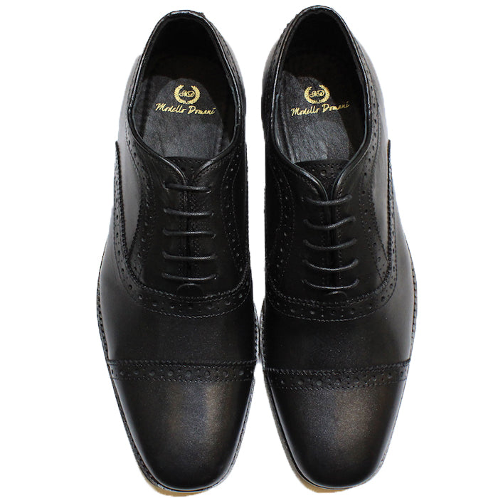 Leather Oxfords (Black)
