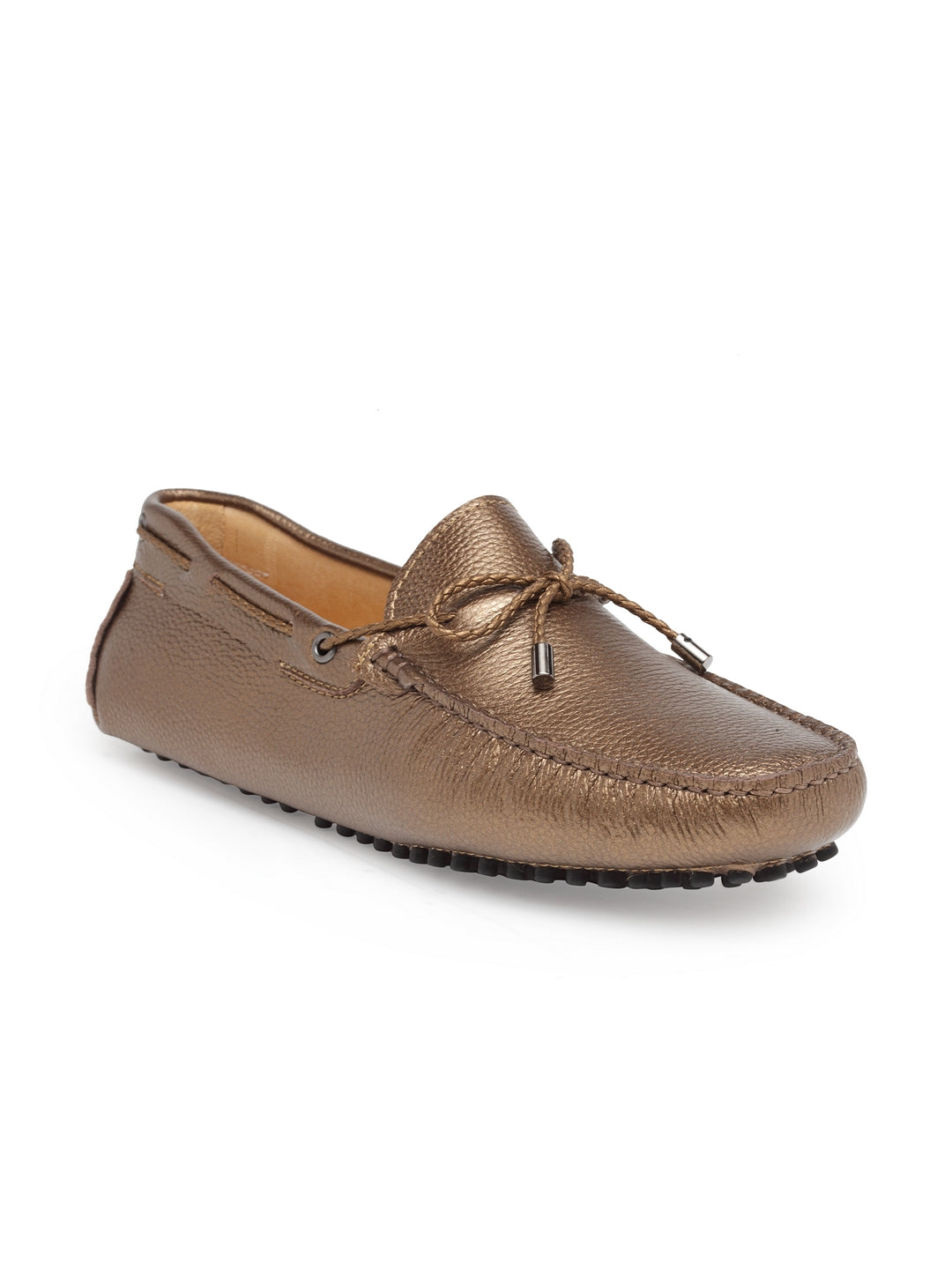 Gommino Leather Loafers (Bronze)