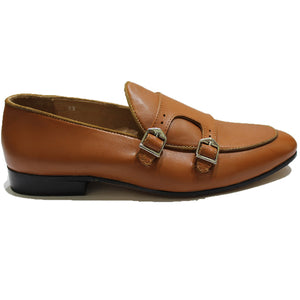New Leather Glamorous Monks (Tan)