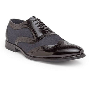 Mesh Brogues (Patent Black)