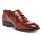 Italian Cut Penny Slipons (Cherry)