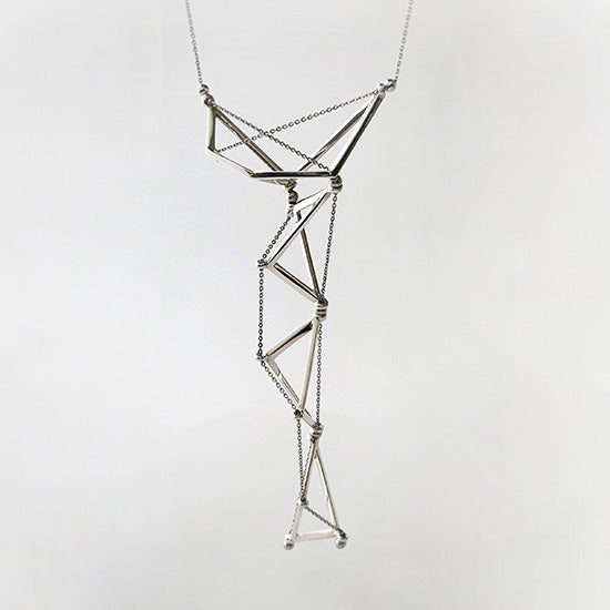 silver necklace<br>AR001