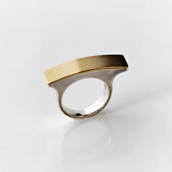 silver / brass ring<br>AR010B